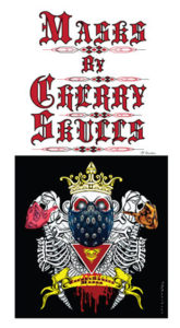 Cherry Skulls Masks Logo 1